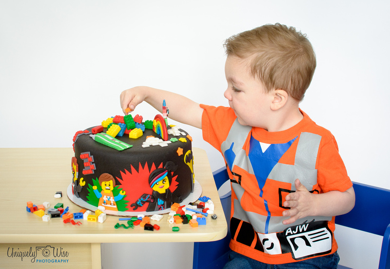 Uniquely Wise Photography The Amazing LEGO cake Portland Oregon